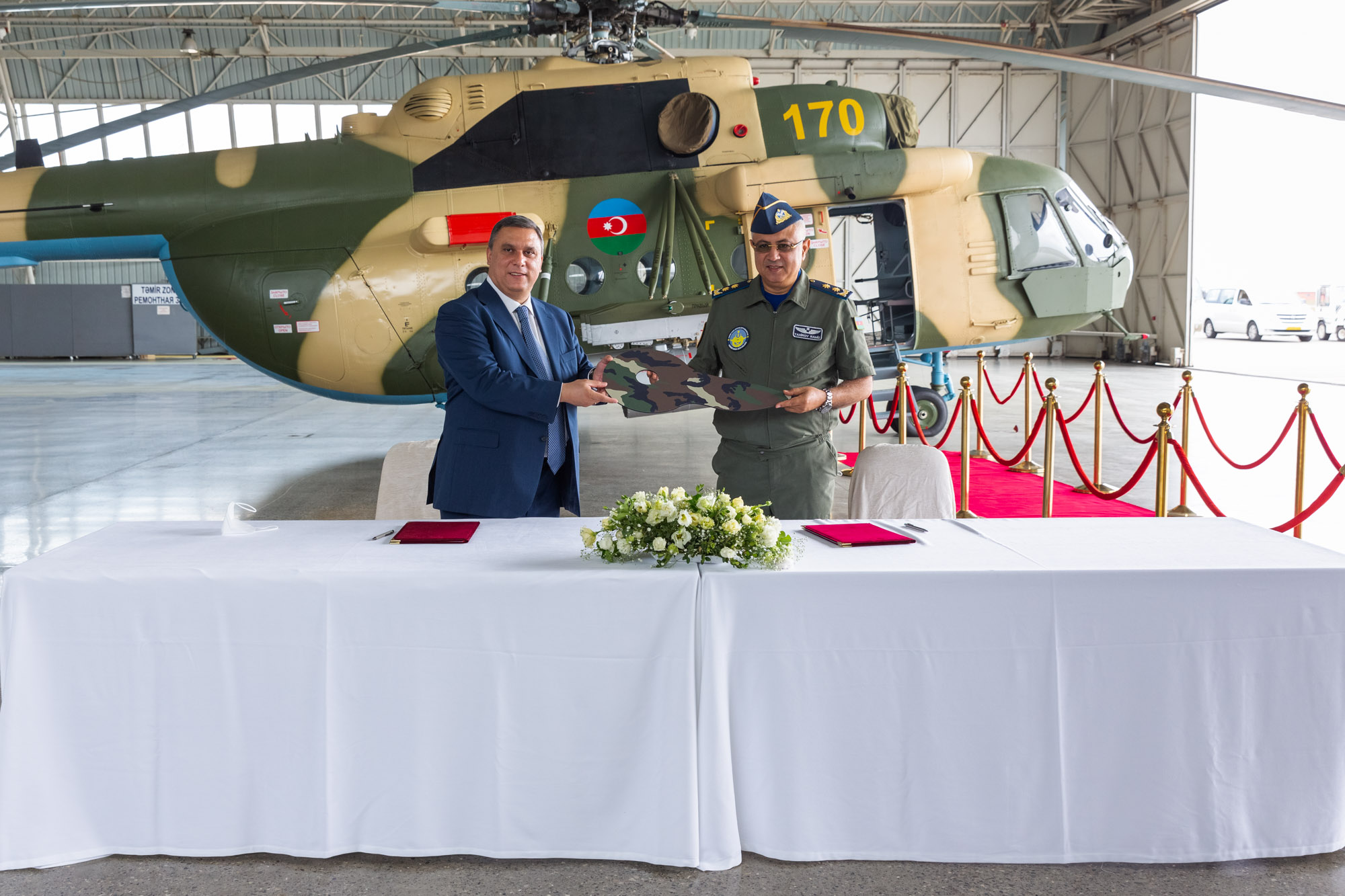 The Overhaul of Another Helicopter Completed in Azerbaijan